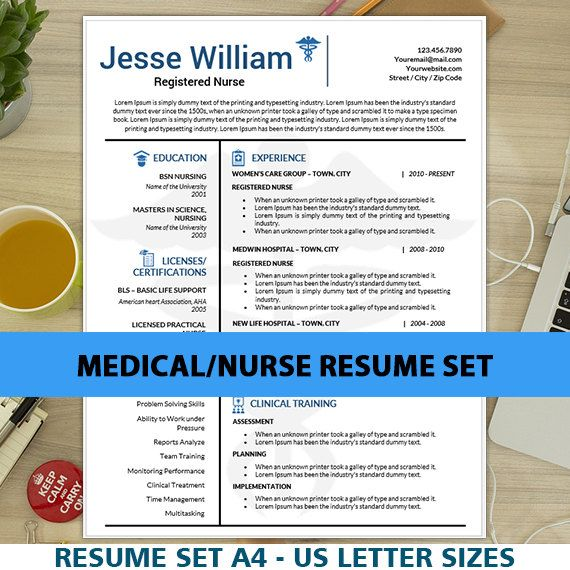 17 Best Ideas About Nursing Resume Template On Pinterest