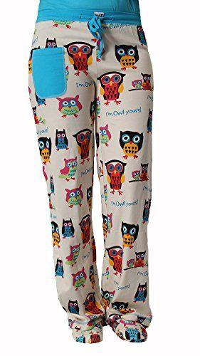 Comfortable Owl Pajamas for Women