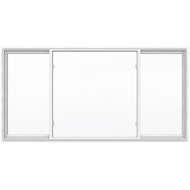 Shop Jeld Wen V2500 Left Operable Vinyl Double Pane Double
