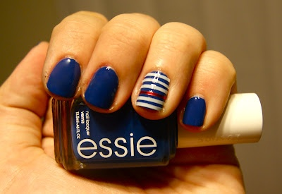 Nautical Nail Idea