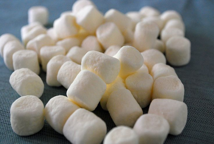 Marshmallows gegen Halsweh