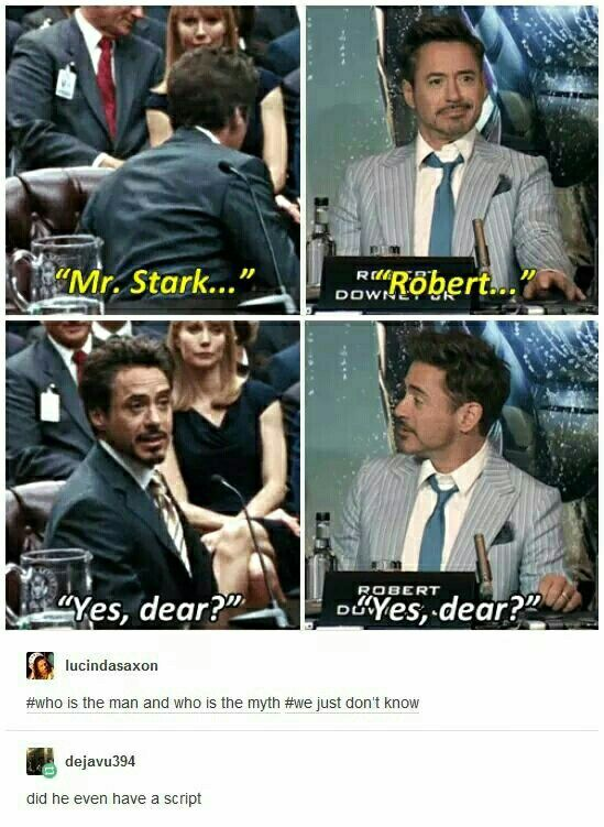 I still hold to my original statement that RDJ cast as TStark was the greatest casing decision of all time.