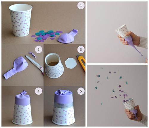 Pluie de Confettis, decoración para fiestas infantiles   Fiestas y Cumples
