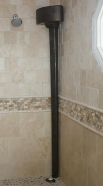 Tornado Body Dryer: Dry your entire body without a towel -- while still in your warm shower enclosure!