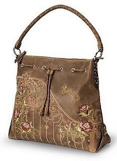 embroidered bag, so pretty