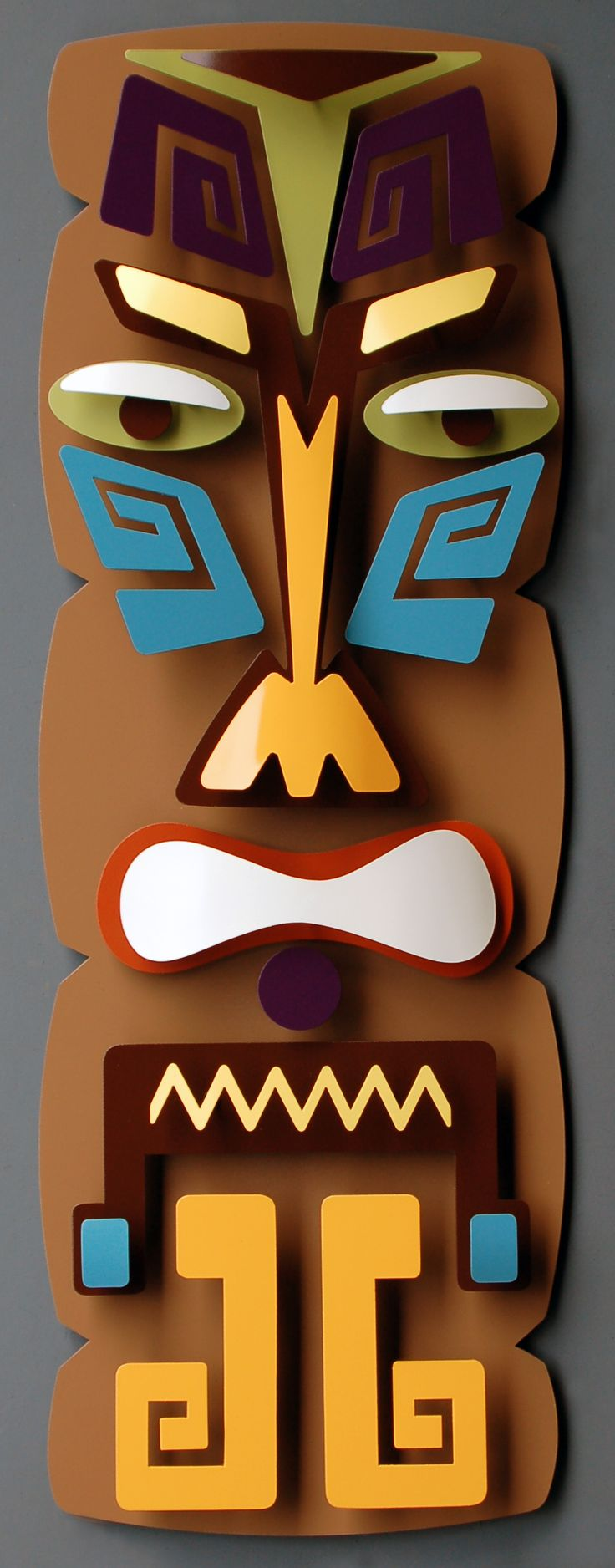 Study the Tiki culture and Lowbrow art movement