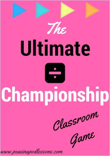 The Ultimate Division Championship is a FUN and easy way to help students practice long division. I host the championship after teaching long division. Essentially, it is a matching game that is played for several rounds. Students become paired with others working at their level. The student or students with the most rounds won is crowned the classroom Ultimate Division Champion(s)! It is during these math championships that my students really become excited and truly began to grasp and…