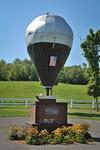 Memorial of first transatlantic balloon flight Presque Isle, Maine