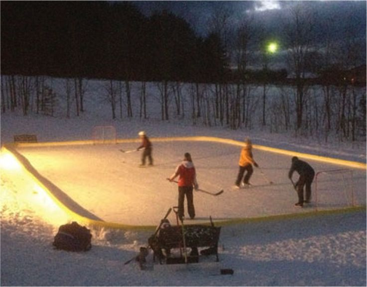 An Easier-Than-You-Think Guide To Building Backyard Ice Rinks