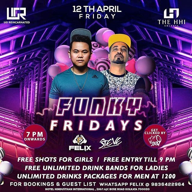 Free Your Funk Every Friday night     LAUNCHING a new