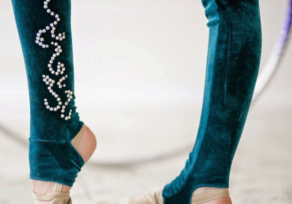 Competition Rhythmic Gymnastics Leotard ice от artmaisternia