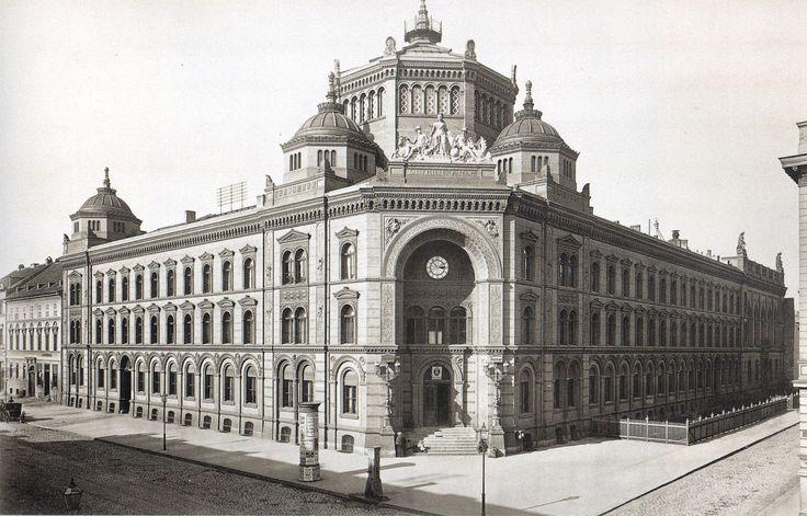 Hermann Rückwardt, Kaiserliches Postfuhramt 1882