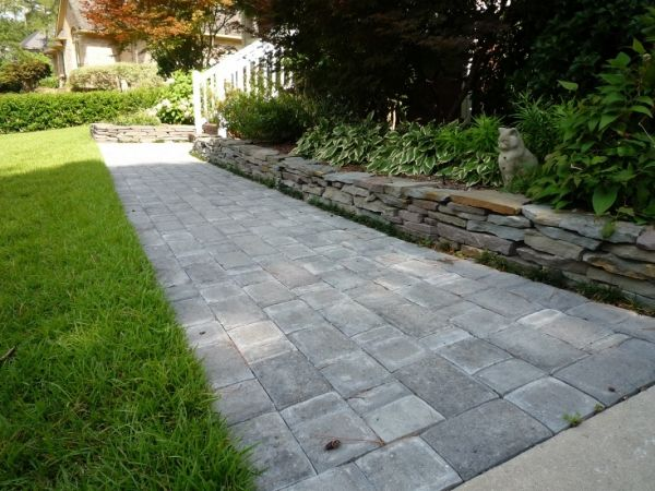 Paver Walkway Design Ideas 17 images about front steps on pinterestsamsung landscaping paver products dayton ohio pictures walkway designs Schn Designs Flagstone Edging Paver Walkway Fayetteville Landscaping