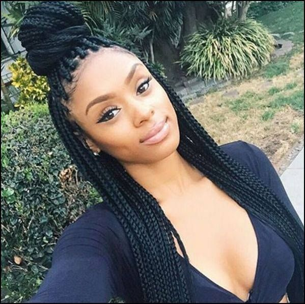 Super 1000 Images About Box Braids On Pinterest Box Braids Poetic Hairstyles For Women Draintrainus