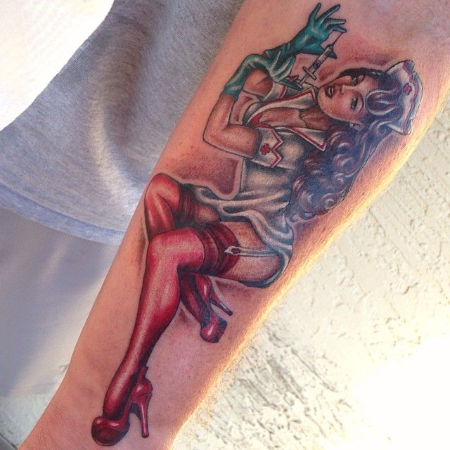 140 Sexy Pin Up Girls Tattoo Designs & Ideas cool  Check more at http://fabulousdesign.net/pin-up-girls-tattoos/