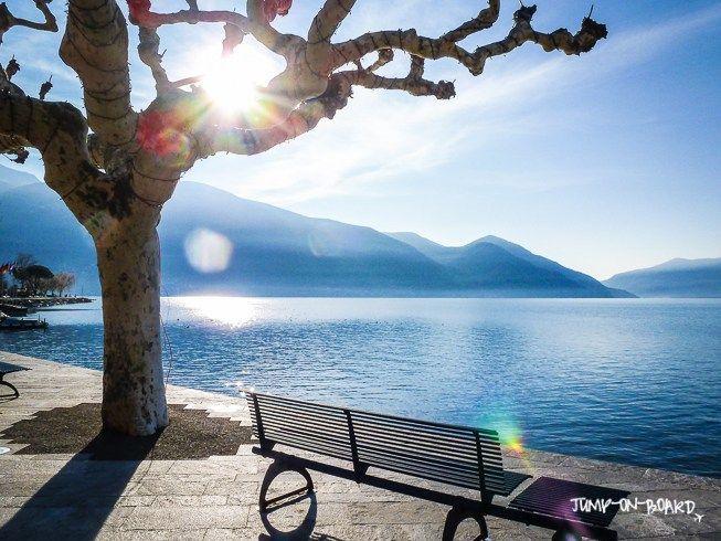 lungolago Ascona, Ticino, Switzerland