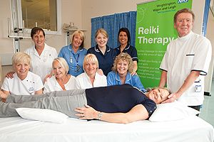 Cancer Patients Benifit from Reiki Therapy in Wigan NHS Foundation Trust