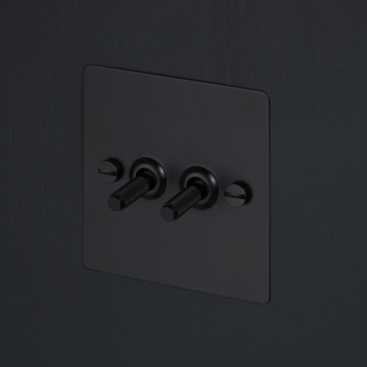 Light Switches - Black