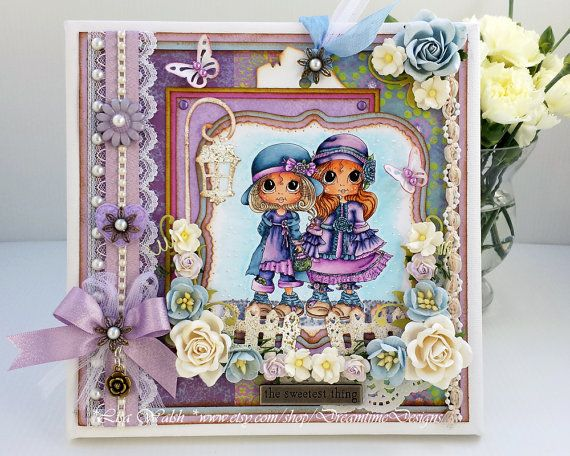 Friendship Tabletop Home Decor - Best Friends Gift by DreamtimeDesigns.