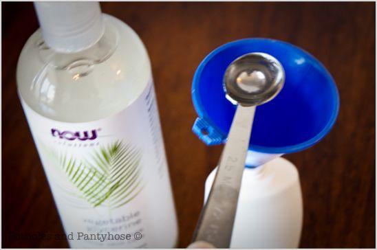 organic home made moistrizer