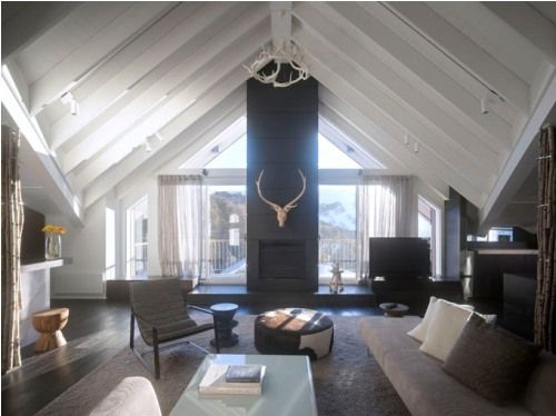 Ski lodges offer great inspiration for cosy living designs