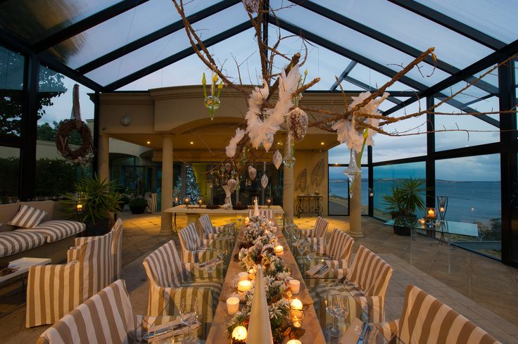 Planning a winter social event? Glen Albyn Estate #glenalbynestate #winter #autumn