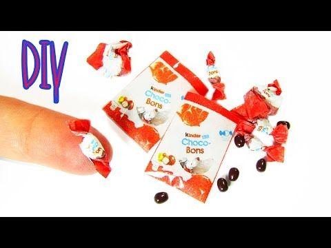 tutorial: miniature Kinder choco-bons
