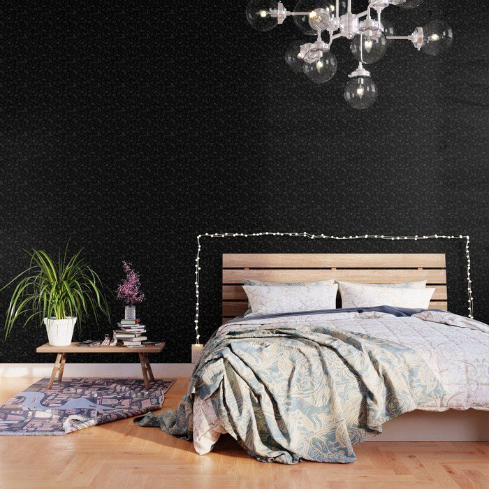 Magic Constellations Broom Magic Wizard Witch House Raven Lion Cup Badger Owl Wallpaper By Neverlan Black Wallpaper Blue Wallpapers Green Wallpaper
