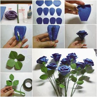 Χειροτεχνημα - Handmade: Φτιάχνω μόνη μου λουλούδια