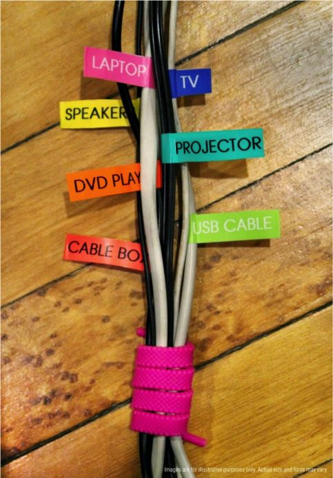 Organizing ideas : Never accidentally unplug the wrong thing.
