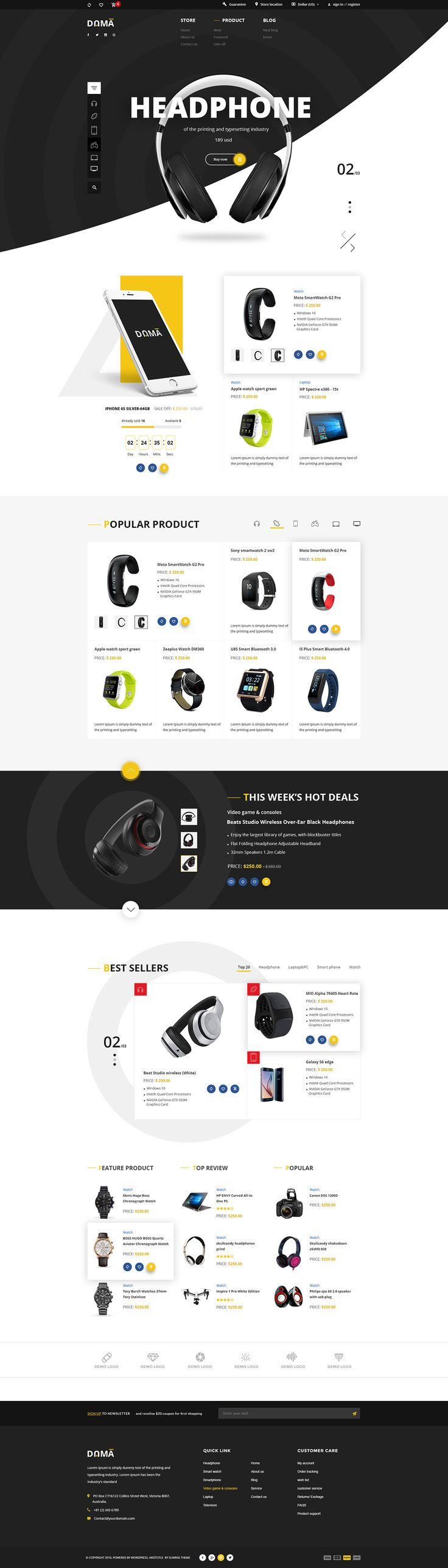 01 dama home 01 02 dama home 02 03 dama home 03DAMA is a minimalistic and extraordinary eCommerce website PSD template that we must call it 'the future of product design'. By adopting practices that elevate the customer experience and researching on the…