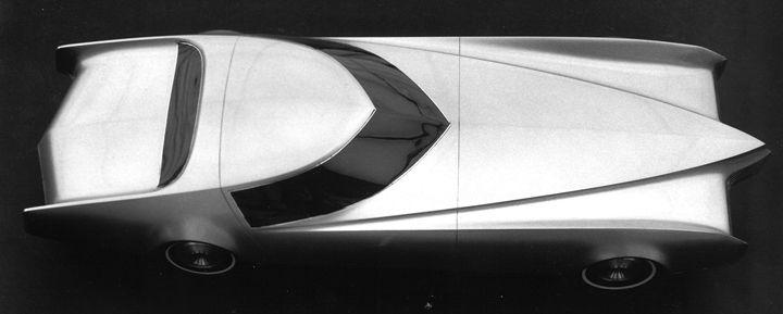 Weird Vintage Cars: Cadillac Eldorado Concept (1963)