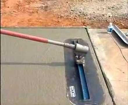 Fresno Concrete Trowel Video Demonstrates How To