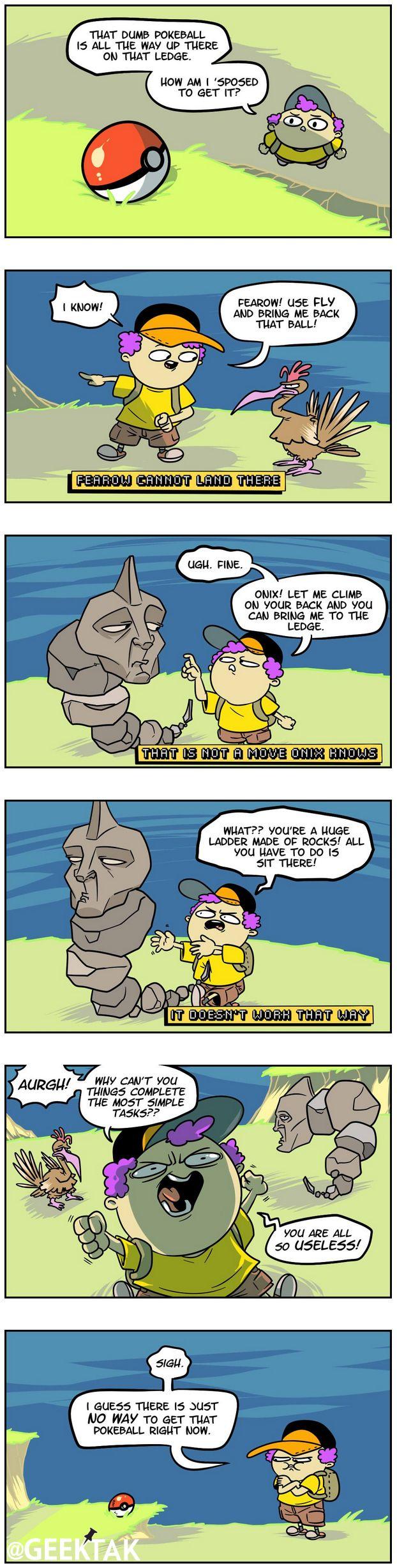 Pokemon Trainer Problems