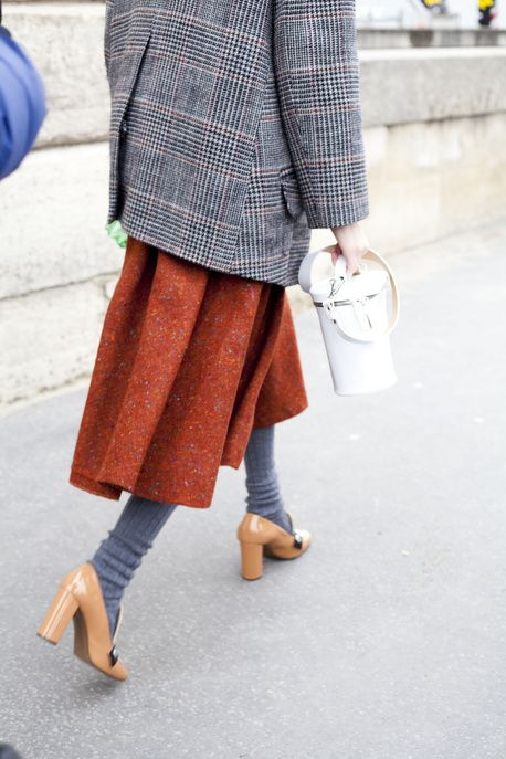 How to style wool tights
