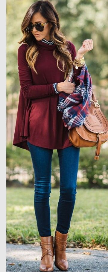 Beautiful color outfit for fall. Stitch fix inspiration. Try stitch fix for only…