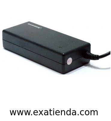 Ya disponible Alimentador port. Kloner 90w especifico   (por sólo 20.99 € IVA incluído):   - Cargador Especifico Compatible Toshiba - Voltaje de entrada:100 -240 V - Voltaje de salida: 19V - Amperaje de salida: 4'74A (90w) - Dimensiones de la clavija Exterior: 5.5 mm - Dimensiones de la clavija Interior: 2.5 mm - Protección de salida: over-load - Protección de cortocircuito - Compatibles con los siguientes modelos:TOSHIBA: Satellite 1600, 1600series satélite, satélit