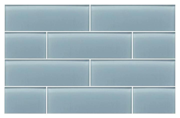 Jasper Blue Gray 4x12 Glass Subway Tiles In 2019 Glass