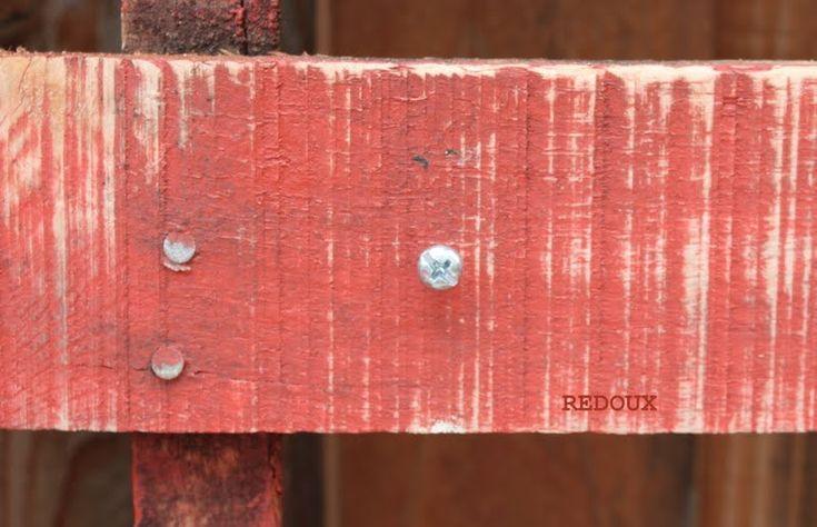 cross post for wood pallet planter by redouxinteriors.com