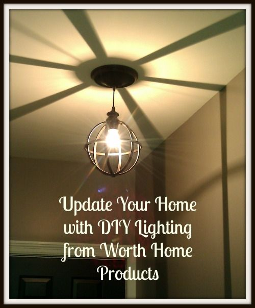 15 best instant pendant lighting lifestyle images on pinterest update your home with diy lighting from worth home products giveaway aloadofball Choice Image
