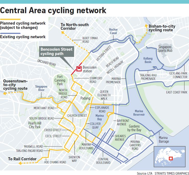 Plans unveiled for cycling network in the city, foldable bikes to be allowed on public transport all day, Transport News & Top Stories - The Straits Times