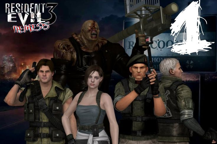 Resident Evil 3. #1: Велком ту Зомбиленд!