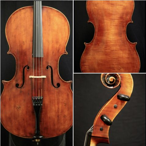 A powerful, warm 1987 cello crafted by violinmaker Lawrence S. Furse is available for examination and trial. #cello #violinmaker #LawrenceFurse #BenningViolins #FineCello #music #instruments