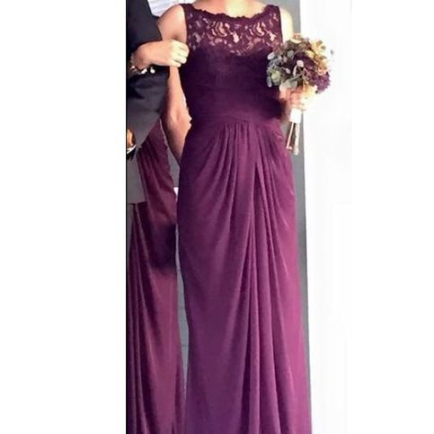 Purple+bridesmaid+dress,+long+bridesmaid+dress,+lace+bridesmaid+dress,+popular+wedding+party+dress,+chiffon+bridesmaid+dresses,+NDS400    This+dress+could+be+custom+made,+there+are+no+extra+cost+to+do+custom+size+and+color.    Description+of+long+bridesmaid+dress  1,+Material:+chiffon,+lace,+elas...