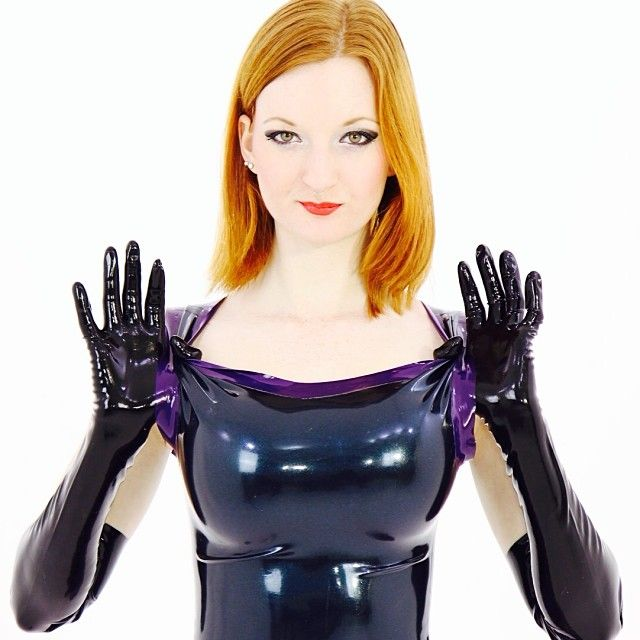 Fucking redhead latex rubber man, i'd sexually