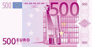 I need 500 euros