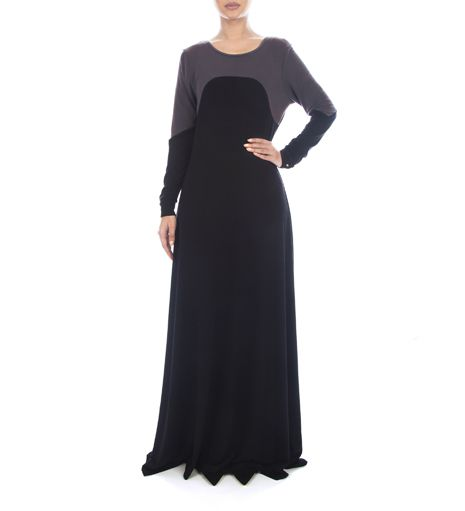 love the jersey t-shirt fabric on this INayah Colleciton abaya