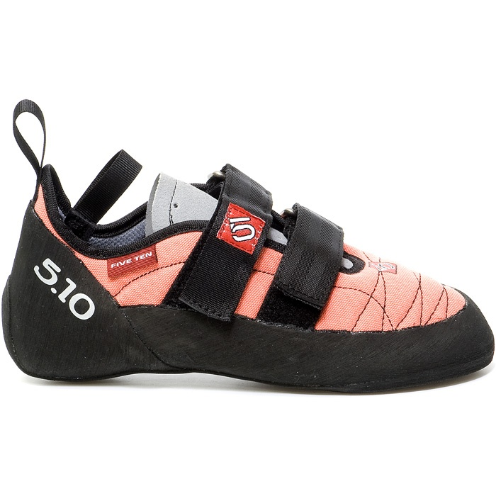 all-around climbing shoe in coral, well there is a grey guys option. To win this shoe http://blog.rockcreek.com/archives/instructions-for-entering-the-2012-5-10-days-of-may-updated-daily.html #fiveten #rockcreek