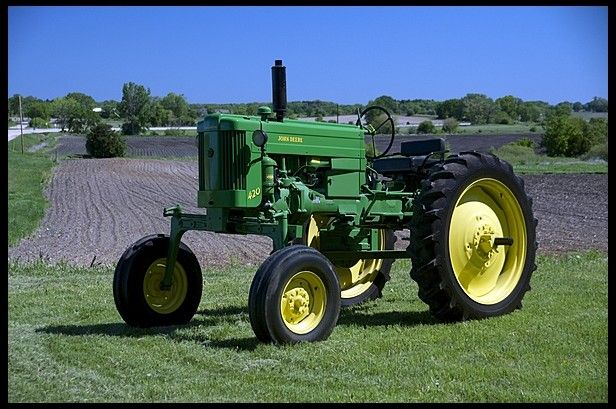 1956 John Deere 420H for sale by Mecum Auction - 1 of 181 1956 All Green 420 H-Crops