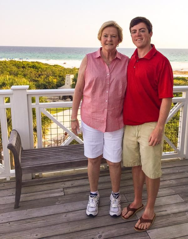 Pat and Tyler Summitt. Mother's Day 2015. (via Twitter) We love you, Pat!